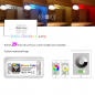 Mobile Preview: WIFI WLAN LED Controller DC12-24V 10A RGB Android IOS APP Streifen Stripe Band