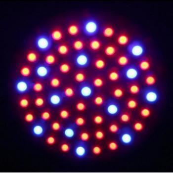 LED Pflanzenlampe 3 Watt 60 Leds E27 Dual Spektrum Rot + Blau Grow Light