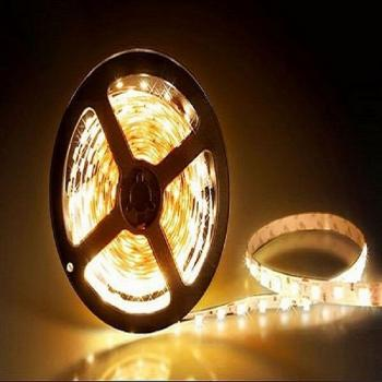 5m 24V LED Streifen Strip Warmweiss 3200K SMD5050 Wasserdicht IP65 dimmbar 300 Leds