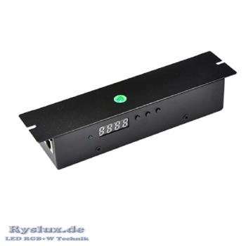 LED DMX 512 Controller Decoder Digital Display Anzeige RGBW 4 Kanal 16A PWM Dimmer Steuerung
