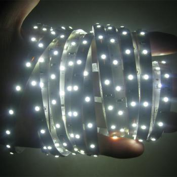 5m 24V SMD 3528 LED Stripe flexible 60leds/m White 6500K IP20 non Waterproof