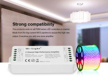 Mi-Light 4 Channels high Speed Performance Amplifier LED Strip 6A Channel