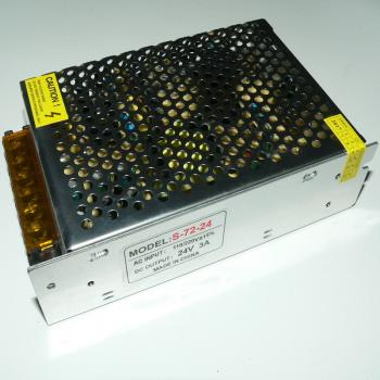 24V 3A 72W LED Netzteil Transformator Trafo Treiber Driver Power Supply