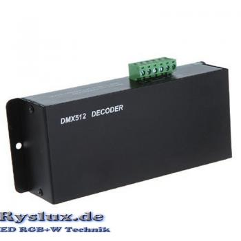 LED DMX 512 Decoder Controller Dimmer RGB 3x4A Channel 12A PWM