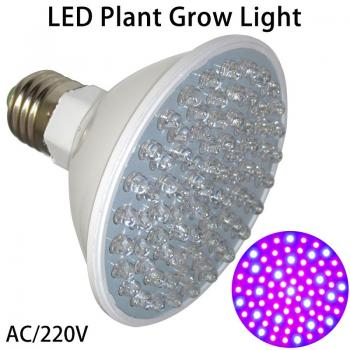 4.5 Watt Led Plantlight 140° to 180° Plant Growht Grow 80 Leds E27 Plant Growlight 4.5W