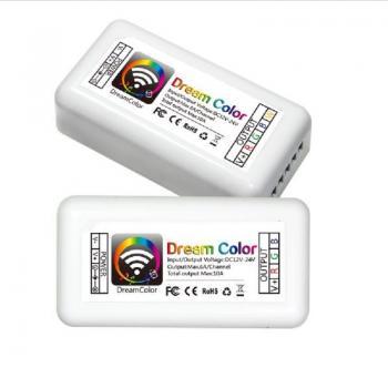 Wifi LED Controller DC12-24V 10A RGB LED Android IOS APP Streifen Licht