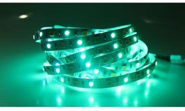 5m 12V LED Stripe RGB+W RGB+Warm White IP65 Waterproof SMD5050 14.4W/m 300leds flexible dimmable