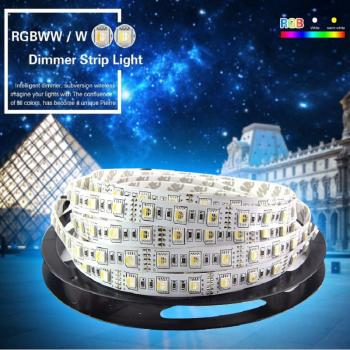 5m 12V flexible Led RGBW Streifen Stripe 4in1 SMD5050 IP65 RGB+Weiss Kalt 6500K
