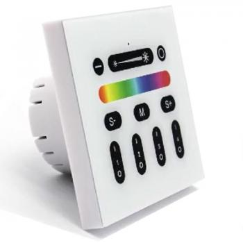 Mi-Light WIFI Wandschalter 4 Zonen RGB RGBW RF 2.4G Touch Panel Controller Steuerung Unterputz