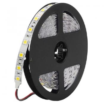 12V LED Stripe SMD5050 White 6500K IP20 60leds/m Tape 14.4W/m dimmable  - EEK: A+ (Spektrum: A bis A+++)