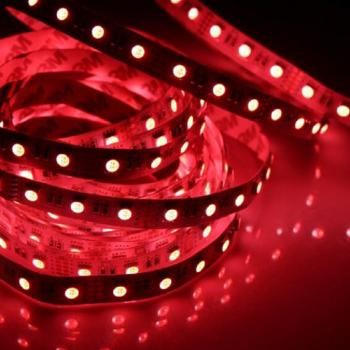 5m 24V Led Strip 4in1 RGB+WW Warm White SMD 5050 Waterproof IP65 300 Leds 60leds/m dimmable