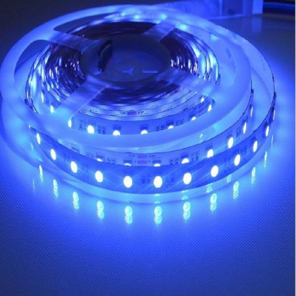 5m 24V Led Stripe 4in1 RGBW White 6500K SMD5050 60leds/m non Waterproof IP20 dimmable