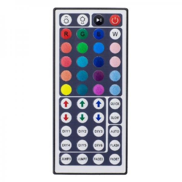 44 Keys LED IR RGB Controller Box Remote Dimmer DC 12V 6A Stripe Control
