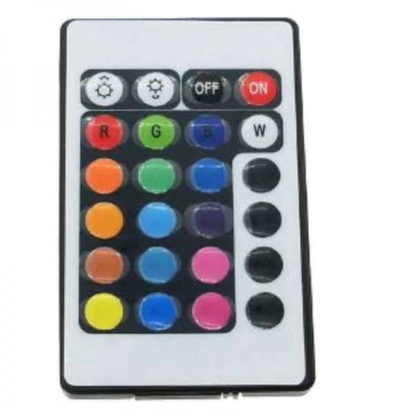 24 key rgb fernbedienung controller box. Black Bedroom Furniture Sets. Home Design Ideas