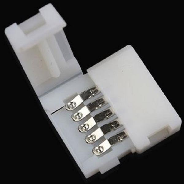 10mm 5 PIN quick connector for LED Stripe RGBW RGB+W