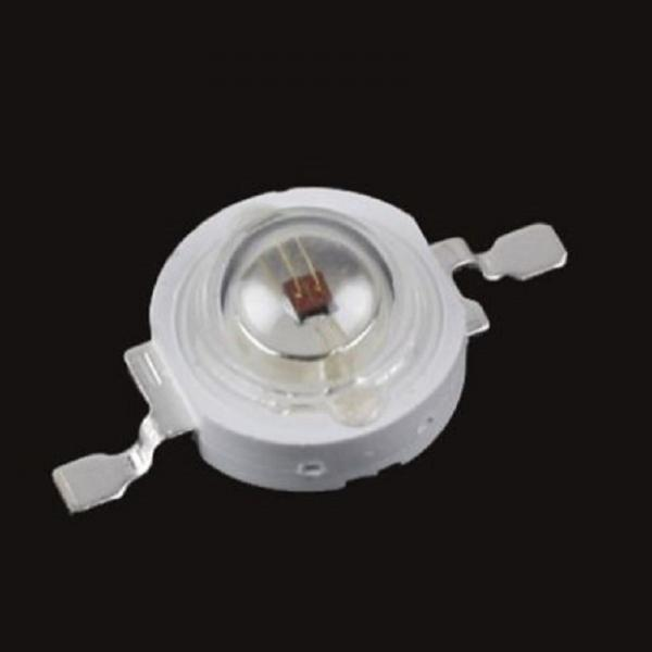 3W Epistar Led Chip IR Infrared 730nm-750nm 2.2V 2.4V 700mA High Power