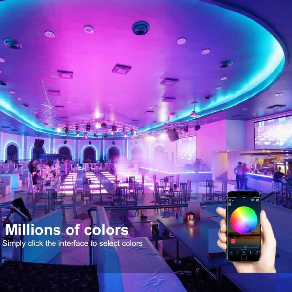 Magic Home Mini WIFI WLAN LED RGB Kontroller DC 9V-12V Alexa IFTTT Applets Google Home Stripe Streifen