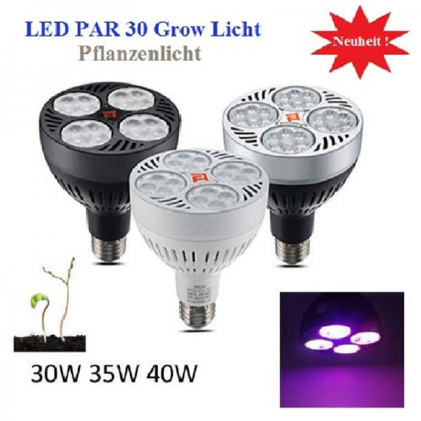 40 Watt Led Plant Grow Light Full Spectrum Fruiting General 3000k 6CH