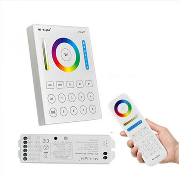 Mi-Light LED RGB+CCT RGB+WW Fernbedienung 8 Zonen Gruppen RF Touch Panel 2.4G