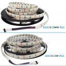 5m 12V Led Streifen 4in1 SMD 5050 Stripe RGB+WW Warmweiss 60leds/m 14.4W/m Dimmbar RGBW RGBWW