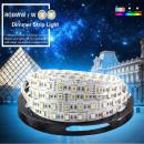 5m 12V Led Stripe 4in1 RGB+White 6500K SMD5050 IP65 Waterproof 300leds RGBW