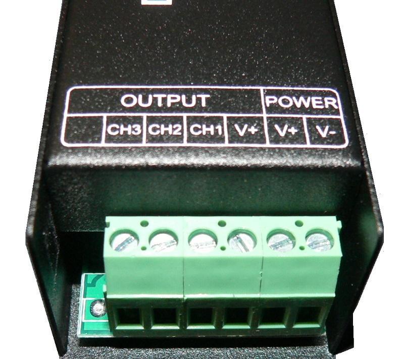 slim dmx512 decoder anschluss