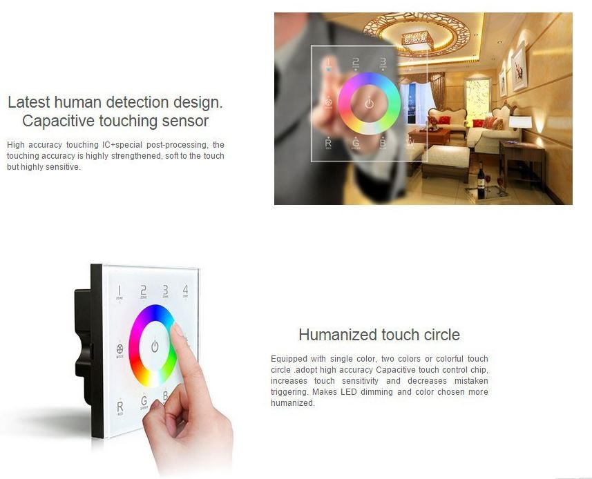 ltech wifi touch panel