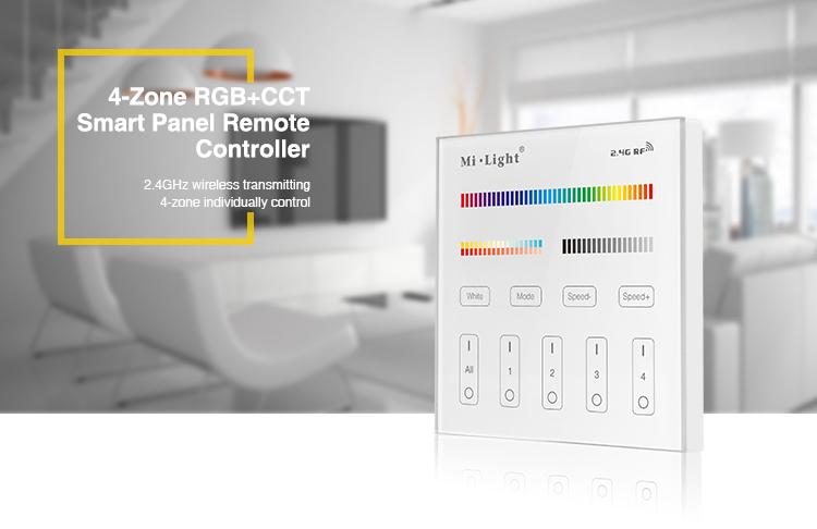 Mi-Light T4 RGB+CCT Controller